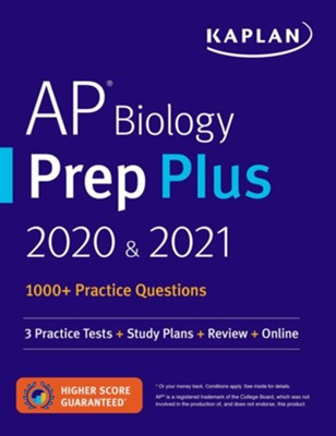AP Biology Prep Plus 2020 & 2021: 7 Practice Tests + Study Plans + Targeted Review & Practice + Online - eBook  -