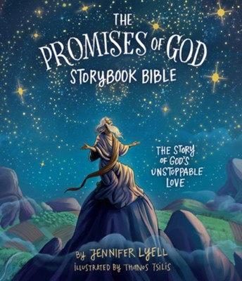 The Promises of God Storybook Bible - eBook  -     By: Jennifer Lyell     Illustrated By: Thanos Thilis