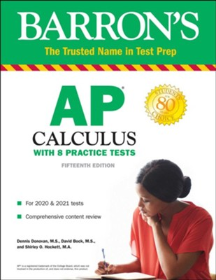 AP Calculus: With 8 Practice Tests - eBook  -     By: Dennis Donovan