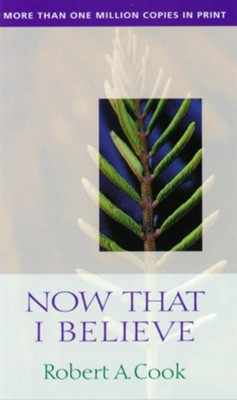 Now That I Believe - eBook  -     By: Robert Cook