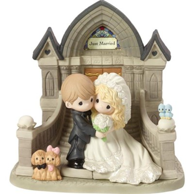 Precious Moments, First Steps To The Rest Of Our Lives, Figurine  -