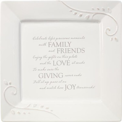 Celebrate Life's Precious Moments With Family And Friends, Square  -