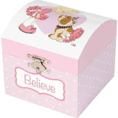 Believe Musical Jewelry Box  -
