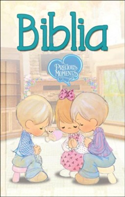 Biblia Precious Moments NVI, Enc. Dura  (NVI Precious Moments Bible, Hardcover)  -