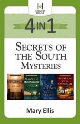 Secrets of the South Mysteries 4-in-1 / Digital original - eBook  -     By: Mary Ellis