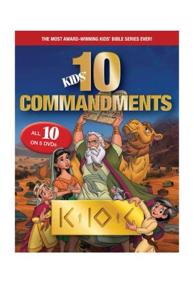 Kids Ten Commandments 1-5 DVD Gift Set  -     By: George Taweel