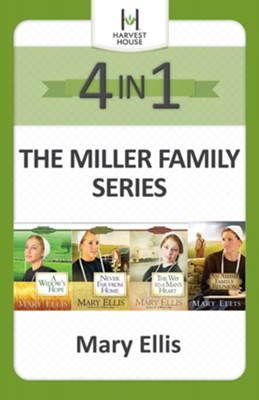 The Miller Family Series 4-in-1 / Digital original - eBook  -     By: Mary Ellis