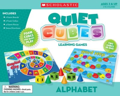 Alphabet Quiet Cubes Learning Games  -