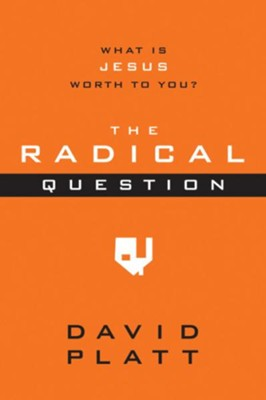 The Radical Question: What Is Jesus Worth to You? - outreach booklet, ebook  -     By: David Platt