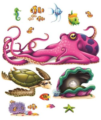 Anchored: Undersea Creature Accessories  -     By: Anchored