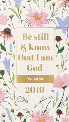 2019 Be Still and Know 24-Month Daily Planner   -