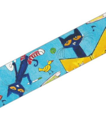 Pete the Cat Spotlight Border  -