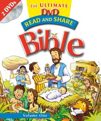 Read and Share: The Ultimate DVD Bible Storybook - Volume 1 - eBook  -     By: Gwen Ellis