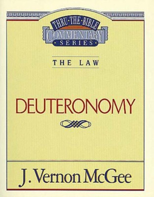 Deuteronomy - eBook  -     By: J. Vernon McGee