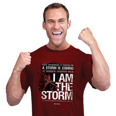 I Am The Storm Shirt, Independence Red, XXX-Large  -