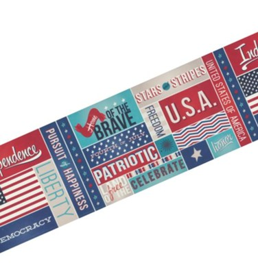 All About America Spotlight Border  -