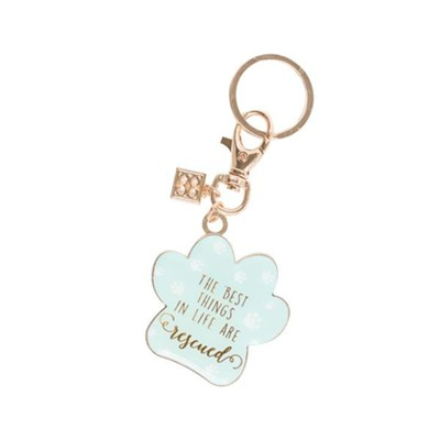The Best Things in Life are Rescued, Keyring  -