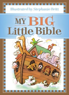 My Big Little Bible: Includes My Little Bible, My Little Bible Promises, and My Little Prayers - eBook  -     By: Stephanie Britt