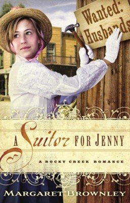 A Suitor for Jenny - eBook  -     By: Margaret Brownley