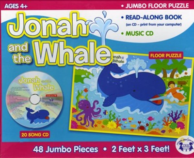 Jonah and the Whale Jumbo Floor Puzzle with Read Along   -