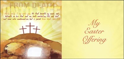 From Death Unto Life (John 5:24, KJV) Offering Envelopes, 50   -