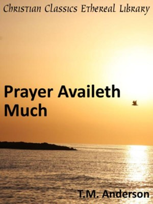 Prayer Availeth Much - eBook  -     By: T.M. Anderson