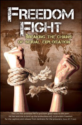 Freedom Fight (Isaiah 61:1, NIV) Bulletins, 100  -