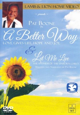 A Better Way - Let Me Live  -     By: Pat Boone
