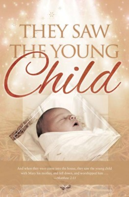 They Say the Child (Matthew 2:11) Bulletins, 100  -