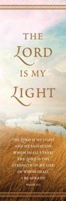 Lord Is My Light (Psalm 27:1) Bookmarks, 25  -