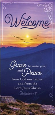 Grace and Peace Welcome Guest Cards, Pack of 50  -