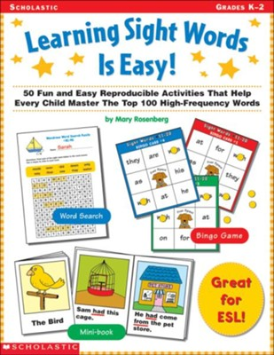 Learning Sight Words Is Easy!  -
