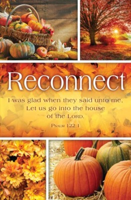 Reconnect (Psalm 122:1, KJV) Bulletins, 100   -