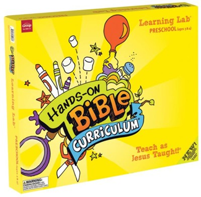 Hands-On Bible: Preschool Learning Lab, Fall 2018  -