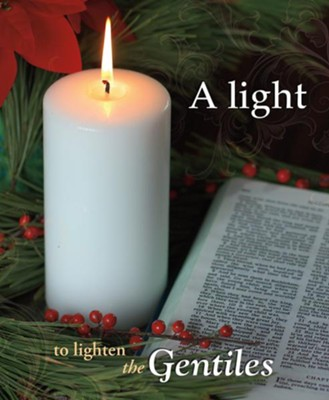 A Light to the Gentiles Large Christmas Bulletins, 50  -