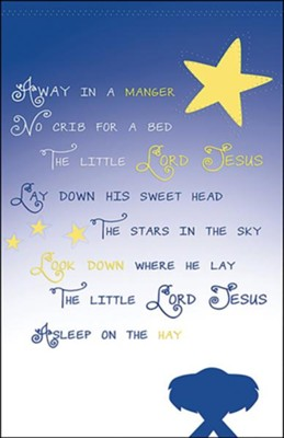Away in the Manger Christmas Bulletins, 50  -