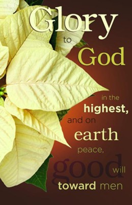 Glory to God in the Highest Christmas Bulletins, 50  -