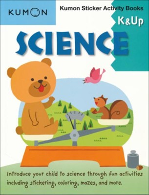 Kumon Sticker Activity Books: Science, Grades K & Up   -