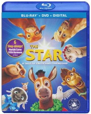 The Star, Blu-ray + DVD + Digital  -