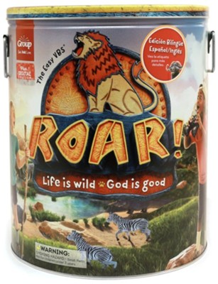 Roar Ultimate Starter Kit Plus Digital Bilingual Edition -  Group Easy VBS 2019  -