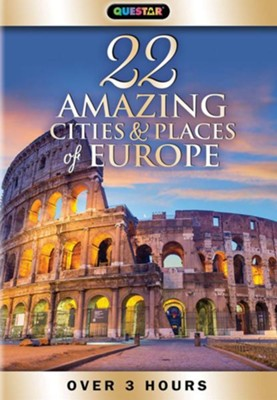 22 Amazing Cities & Places of Europe with Laura McKenzie - DVD  -