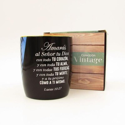 Amaras al Señor, Taza, Coleccion Vintage  (Love the Lord, Mug, Vintage Collection, Spanish)  -