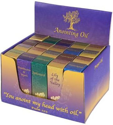 Anointing Oil Box Set, 20 Bottles/10 Scents  -