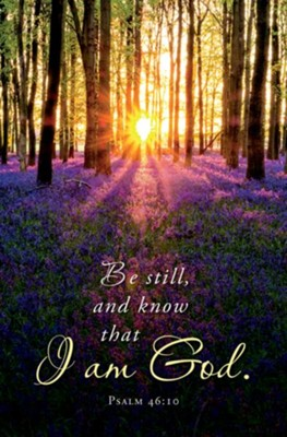 Be Still (Psalm 46:10) Bulletins, 100  -