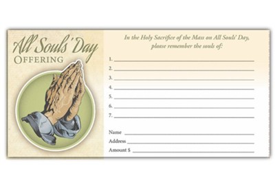 All Souls' Day Offering Envelopes, 100  -