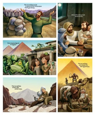 Roar: Bible Story Posters (set of 5)  -