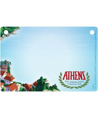 Athens: Name Badges (pkg. of 10)  -