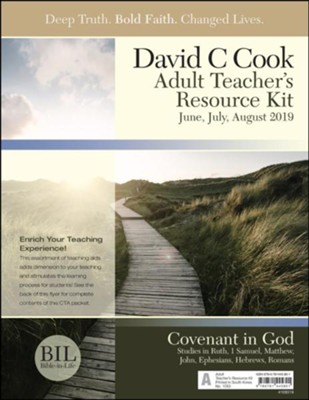 Bible-in-Life: Adult Teacher's Resource Kit, Summer 2019  -