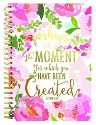 2019 Esther 4:14, 18 Month Planner, Large  -