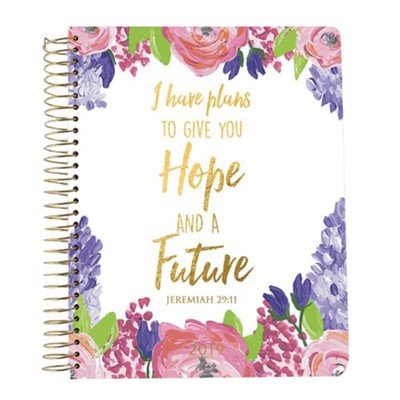 2019 Jeremiah 29:11, 18 Month Planner, Large  -
